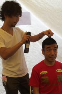 カンボジアフェスティバル メンズベリーショート